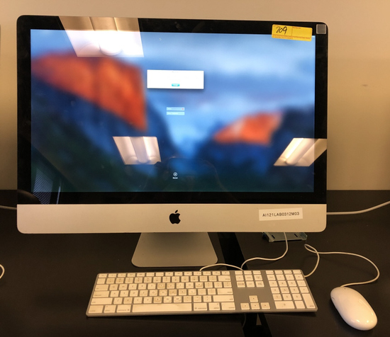 "APPLE MAC PRO 27"" ALL-IN-ONE INCLUDES MOUSE"