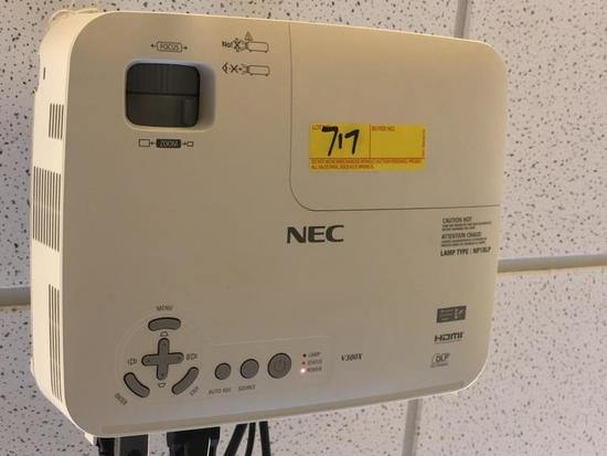 NEC PROJECTOR (MODEL # V300X) INCLUDES REMOTE,