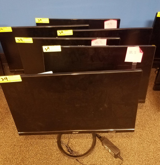 "ACER 24"" MONITORS **HIGH BID/AMOUNT WILL BE MULTIPLED BY THE QUANTITY**"