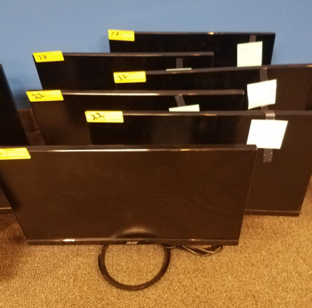 """ACER 24"""" MONITORS **HIGH BID/AMOUNT WILL BE MULTIPLED BY THE QUANTITY**"""
