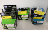 ASSORTED HP PRINT CARTRIDGES **HIGH BID/AMOUNT WILL BE MULTIPLED BY THE QUANTITY**