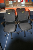 ADJUSTABLE CHAIRS WITH MESH BACK **HIGH BID/AMOUNT WILL BE MULTIPLED BY THE QUANTITY**