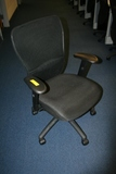 BLACK ADJUSTABLE ROLLING CHAIRS **HIGH BID/AMOUNT WILL BE MULTIPLED BY THE QUANTITY**