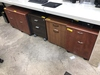 2-DRAWER ROLLING FILE CABINETS WITH CONTENTS