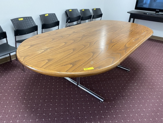 LOT CONSISTING OF CONFERENCE TABLE,