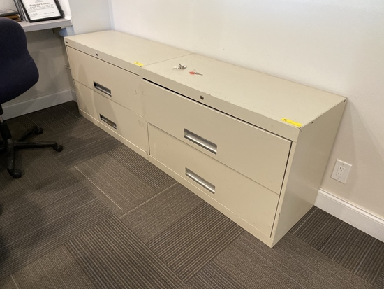 2-DRAWER LATERAL FILE CABINETS