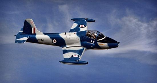 1970 BRITISH ROYAL AIR FORCE BAC JET PROVOST MK5A