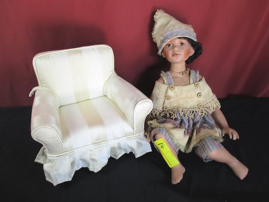 DUCK HOUSE HEIRLOOM DOLL