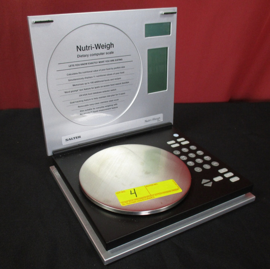 SALTER NUTRI WEIGH DIGITAL FOOD SCALE