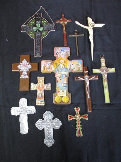 LOT CONSISTING OF (11) ASSORTED CROSSES