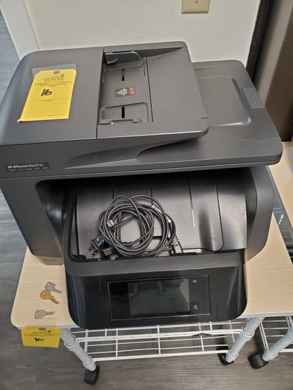 HP OFFICE JET PRO PRINTER MODEL 8720