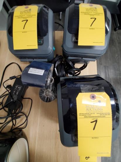 ZEBRA LABEL PRINTERS MODEL ZP450