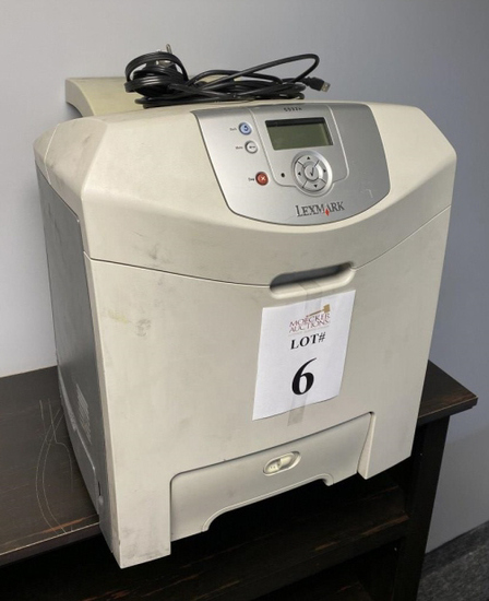 LEXMARK C532N PRINTER WITH POWER CORD