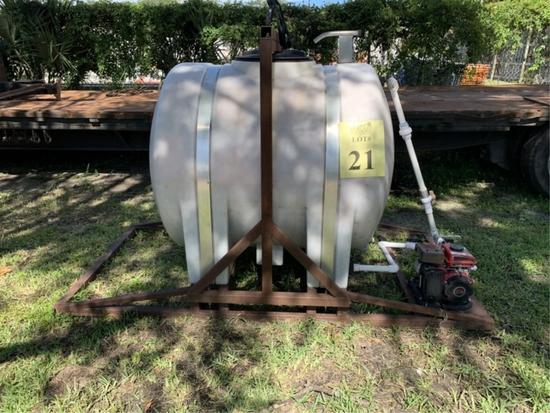 TRUCK MOUNT SPRAYER WITH PREDATOR 7.9CC WATER PUMP