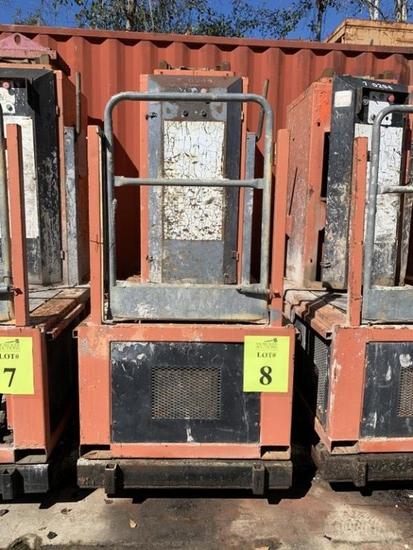 FRACO ACT8 MAST CLIMBING WORK PLATFORM