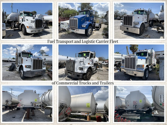 Fuel Transport and Logistic Carrier Fleet