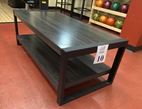 COFFEE TABLES, 4' L X 2' W