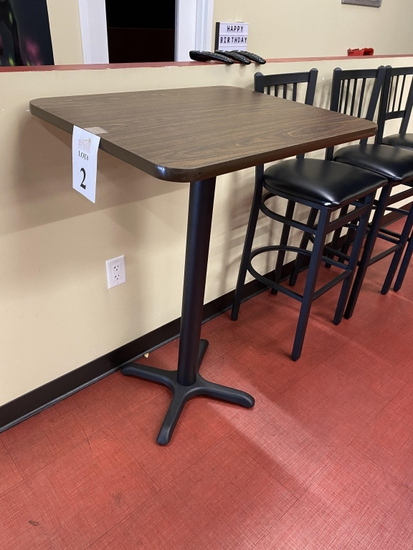 """HIGH TOP FORMICA TABLES, 30"""" X 24"""" X 42"""" H"""