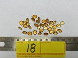 LOT CONSISTING OF LOOSE CITRINE