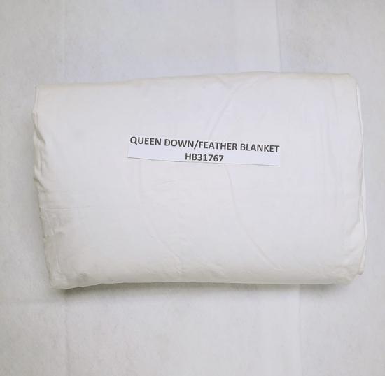 QUEEN FEATHER/DOWN BLANKET INSERT