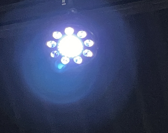 CHAUVET FXPAR 9 LED MULTICOLOR FX
