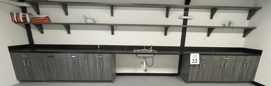 KITCHEN CABINETS AND SHELVING