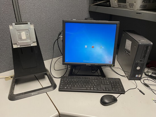 DELL COMPUTER SYSTEM WITH (2) COMPUTERS