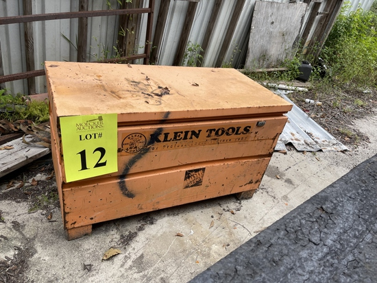 KLEIN TOOLS JOB BOX