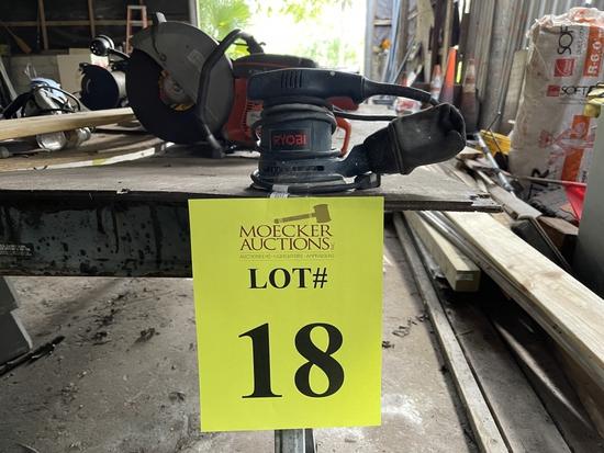 RYOBI ELECTRIC ORBITAL SANDER, MODEL#  RS240