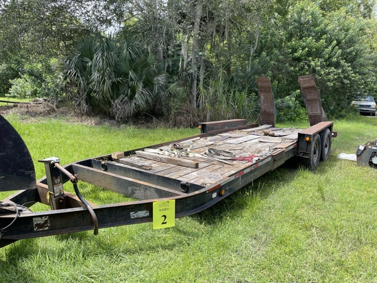 2005 28' BELSHE DUAL AXLE FLATBED EQUIPMENT
