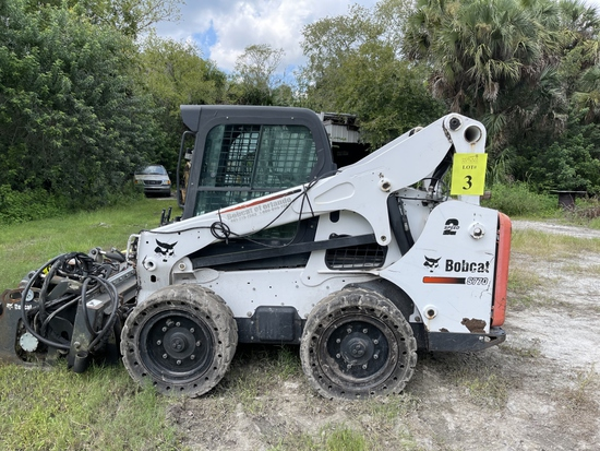 2014 BOBCAT S770 SKID STEER WITH A/C