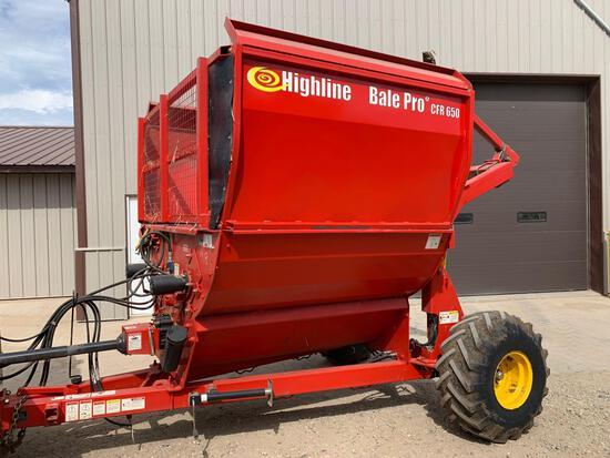 Highline Bale Pro CFR650 Bale Processor