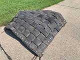 3--4ft x 5ft rubber mats