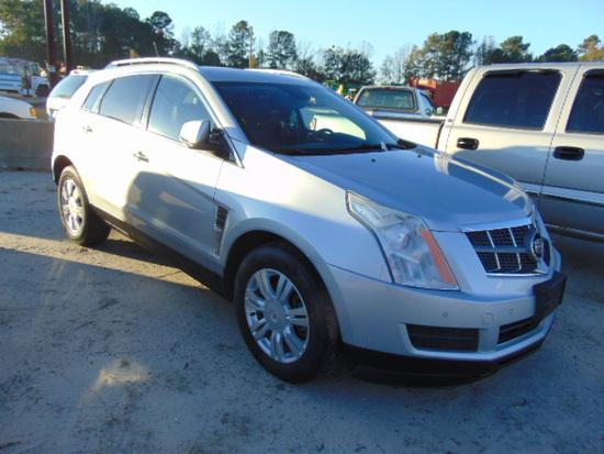 2010 CADILLAC SRX VIN:3GYFNDEYXAS513987 SUV, leather, moonroof, keyless ent