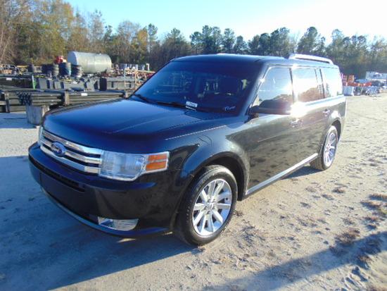 2011 FORD FLEX SEL VIN:2FMGK5CC8BBD22524 SUV, 3.0L engine, P/T, P/W, cloth