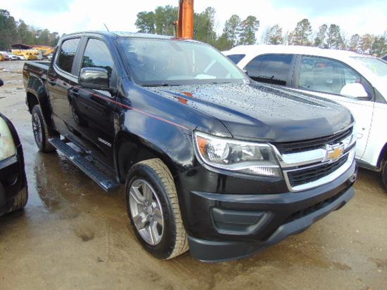2016 CHEVROLET COLORADO LT VIN:1GCGSCE33G1254545 4 door pickup Z71 off road