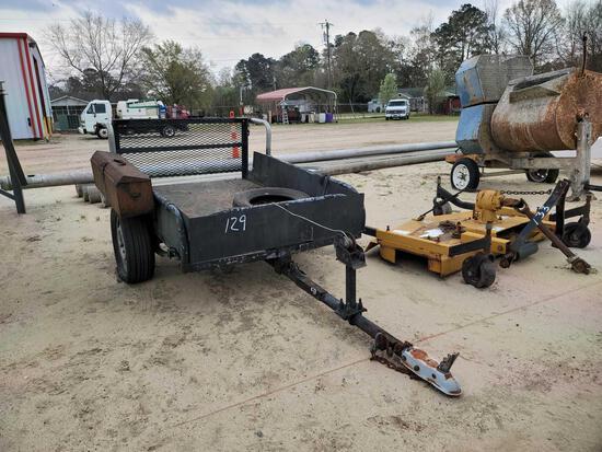 single axle trailer 4x4 *NO TITLE*