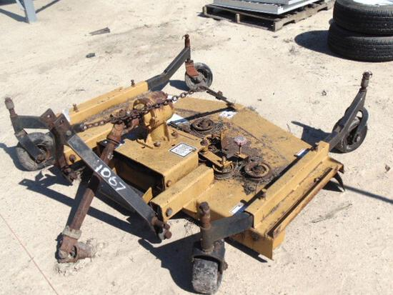 wood 3pt hitch 60'' finishing mower