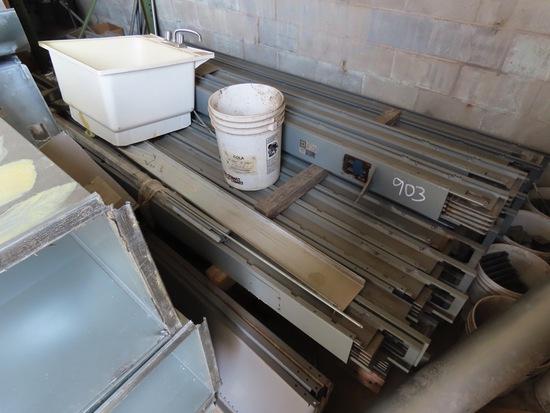 Sink, I-Line Aluminum Plug in Duct