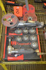 Lot - (2) Ingersoll-Rand Assorted Pneumatic Angle Grinders; with Assorted S