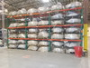 (3) Sections of Pallet Racking. DIM: 44 in x 99 in x 141 in (Contents Not I