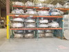 (2) Sections of Pallet Racking. DIM: 44 in x 99 in x 96 in (Contents Not In