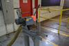 Wallace Supply Mfg. Co. 10 in. Model 1710 Speedy Cut Cut-Off Saw, S/N: 2303