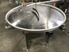 Accutek Model 28048USA, Stainless Steel Rotary Accumulation Table (S/N: A17