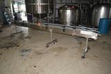 4.5 in x 14 ft SS Frame Plastic Delrin Conveyor (Sold subject to bulk bid Lot: 100)