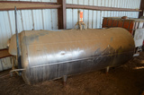 Jacketed Horizontal Tank; 44 in Dia. X 9 ft Long (Approx)