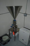 3 Hp High Speed Stainless Steel Mixer; 3450 rpm, 208-230/460v 3ph, Top Feed Cone