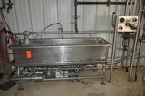 74 in x 20 in x 16 in Deep (Approx) COP Tank with Related Pump, Valves, 5-Port Manifold and Controls