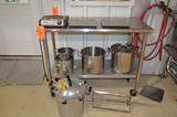 Misc. Plant Support Including, Single Electric Burner, Assorted Scales, Pressure Cook Pot, Assorted