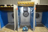 Forced Air Chill Cell (10.5 kw Blower Motor Removed); 45 x 80 in Opening (Approx)